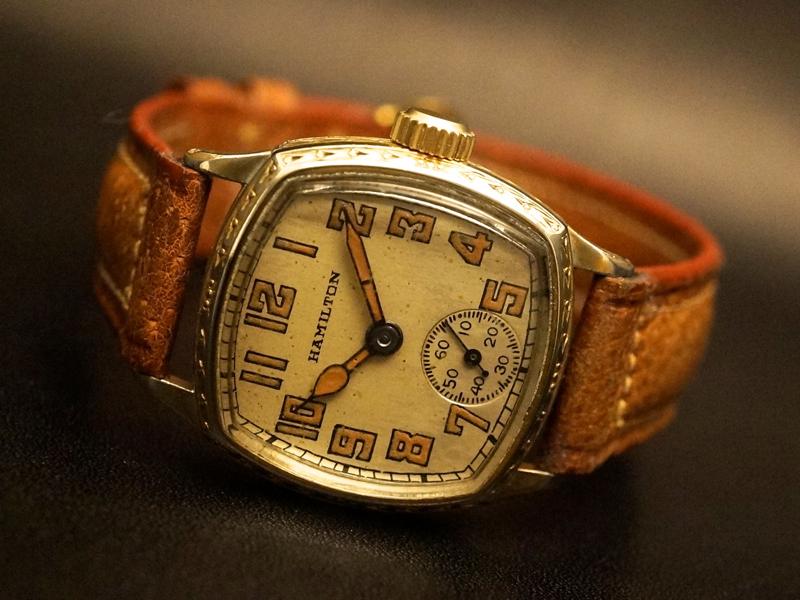 watch 76af8 d6604 HAMILTON / CUSHION - アンティーク腕時計専門店 アド ...